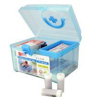 [振兴]家用保健箱 药箱 小药箱 儿童药箱 透明药箱 CH8862