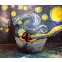供应沈阳 3维立体画 手绘3D墙画 专业订制3D壁画