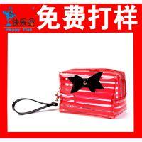 定做PVC袋子 PVC手提袋 透明PVC袋 化妆品袋 塑料袋