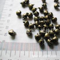 浙江义乌工厂低价供应0.9mm古青铜铁小铃铛迷你铃铛小配件挂件