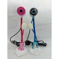 厂家直销 新款上市 G-019带灯带麦 高清摄像头 两个颜色随机搭配