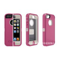 iphone5/5s手机保护壳 TPE 防摔 防震 防尘 三防手机套 三合一