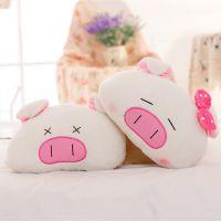 三顺猪情侣小猪猪汽车头枕护颈枕卡通枕头车用饰品靠枕一对的价格