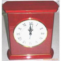 厂价直销座钟 红色酒店用钟 金属钟 木钟 包皮钟