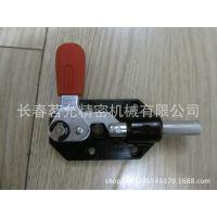GN844推拉夹紧插棒式夹具规格型号  台湾嘉钢系列快速夹钳参数表