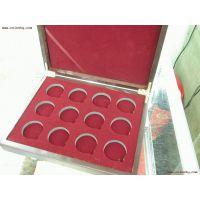供应东莞黄江木盒子厂家定做金银币木盒 徽章纪念币木盒 纪念章木盒