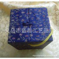义乌厂家供应 书画包装锦盒 中式锦盒 双开门锦盒 书形礼品锦盒