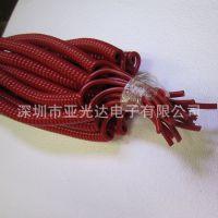 生产批发各式彩色、透明弹簧线、高弹力弹弓线、抗拉力伸缩线