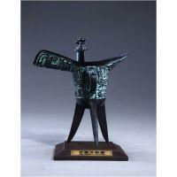 仿古青铜工艺品摆件,西安青铜父辛爵礼品,西安青铜器礼品定制