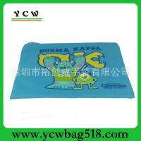 深圳手袋厂 生产直销 600D 文具袋 卡通动漫 化妆袋 学生笔袋