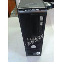 二手原装戴尔台式电脑 DELL GX740主机AMD双核