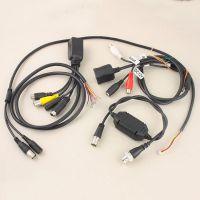 安防监控摄像机传输监控线束 通信连接器 安防传送连接数据线