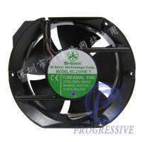 散热风扇现货供应原装正品台湾百瑞Bi-sonic 6C-230HB T 非电容17251椭圆交流风机