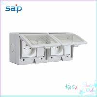 厂家直销SP-2FRS法式防水开关  户外防潮开关 PVC塑料软膜插座