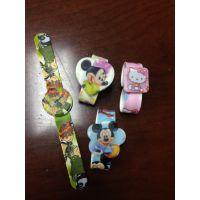 爆款热卖 动物拍拍表 卡通儿童手表 男孩女孩啪啪表 硅胶礼品表