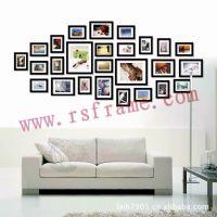 个性照片墙DIY 淘宝供应商 时尚像片相架厂家 创意相框墙批发定制