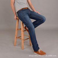 2014春夏新款 男品牌牛仔裤 直筒长裤 正品商务休闲牛仔裤 男款