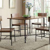 美式复古loft 实木餐椅 做旧咖啡桌椅 仿古铁艺电脑椅 实木办公椅