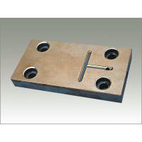 双金属滑板/FZ-6 DF-6滑板/钢铜复合耐磨板/粉末冶金烧结滑板/ FZ-6(5) DF-6(5