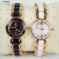 厂家直销 批发女式手表 玫瑰金时尚手表 百搭数字表盘 8698