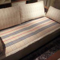 英伦格花边手工编织花边布艺沙发垫 沙发坐垫 沙发巾 全棉沙发垫