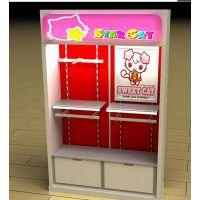 供应设计欧式木质专卖店服装展柜烤漆高柜背柜