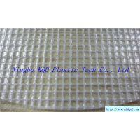 300D透明PVC 夹网布文件袋包装袋购物袋面料