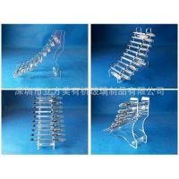 深圳有机玻璃厂家直销有机玻璃笔架  亚克力阶梯式笔类展示架