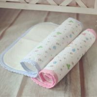 美酷婴童品牌大号彩色印花防水生态棉婴儿尿垫隔尿垫隔4312(大)