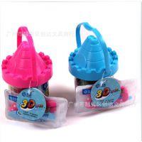 创达文具 ZG-5022 智高3D彩泥粘土儿童玩具12色橡皮泥模具套装