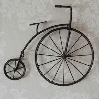 欧式时尚铁艺怀旧自行车壁挂家居装饰品墙壁装饰复古创意壁饰挂件