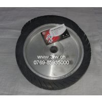 电动抛光机橡胶轮,胶辊,离心轮,全铝轮,特殊规格橡胶轮