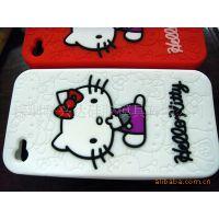 热销产品:Hello Kitty 硅胶苹果手机套 iphone5硅胶迷你手机套