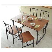 铁艺桌椅 餐桌 咖啡桌 奶茶店桌椅餐厅实木桌椅防锈批发热卖