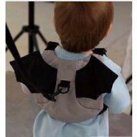 母婴用品批发 蝙蝠包防走失包 宝宝防走失带 安全小背包 学步带