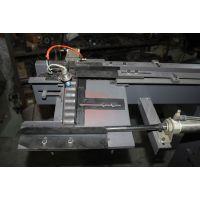 中频加热炉自动送料机|铁棒加热改造自动化上料