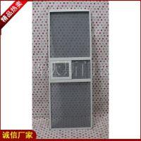 新款金刚网纱窗定做 防蚊纱窗价格 推拉纱窗 隐形防护 深圳厂家