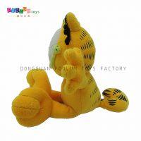 加菲猫毛绒玩具 厂家直销 定制加工 可加logo ISO9001质量认证厂