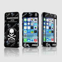 供应iphone5保护膜批发 苹果5 5S皮纹保护膜 印刷彩膜10图可选