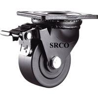重型脚轮、超重型脚轮万向轮、3寸超重低重型黑色万向轮