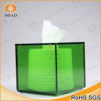 厂家直销亚克力收纳纸盒 多用途有机玻璃车载纸巾盒 透明卫生纸盒