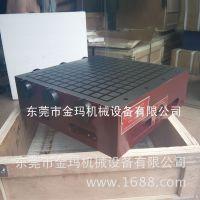 CNC方格超强力永磁吸盘300X400|加工中心磁盘|电脑锣强磁吸盘厂