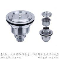 广东广州方联供应304不锈钢卫生地漏(DN150)
