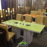 深圳四人位餐桌订购 防火板餐桌 火锅桌 西餐桌