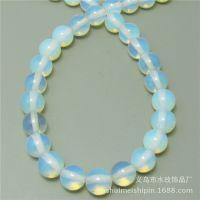 蛋白石散珠串珠饰品配件 DIY手工串珠手链材料批发 水玫NS075