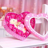一件代发 创意礼物香皂花玫瑰礼品肥皂花生日礼物浪漫礼品送女友