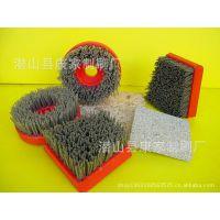 供应高强度耐磨钢丝尼龙丝扫雪刷,方块刷环卫刷扫路刷