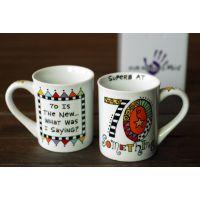 原厂供应绘彩绘陶瓷餐具批发  星巴克杯子陶瓷20131015306