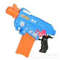 劲速正品 儿童电动安全EVA软弹玩具枪10连发 JS003 蓝色一件代发