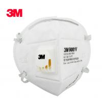 3M 9001V 防护口罩 防尘 带呼吸阀口罩 供应防雾霾口罩
